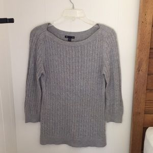 Gap 3/4 sleeve sweater
